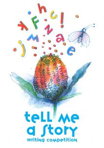 This image has an empty alt attribute; its file name is Tell-me-a-story-LOGO-212x300.jpg